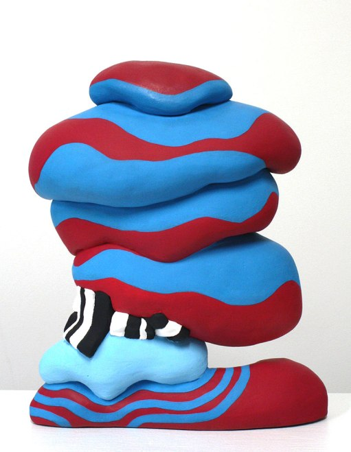 Ceramic, Acrylic, 12 x 10 x 3 inches, 2013