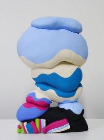 Ceramic, Acrylic, 15 x 9 x 6 inches, 2013