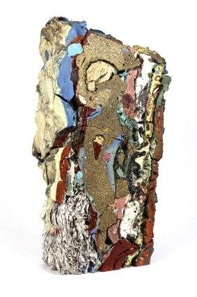2015, Various reclaimed ceramic materials; 12.5″ x 4″ x 7″