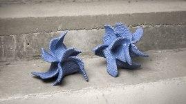 """Julia Saffer, """"Blue #1 & #2, Ocean Series"""""""