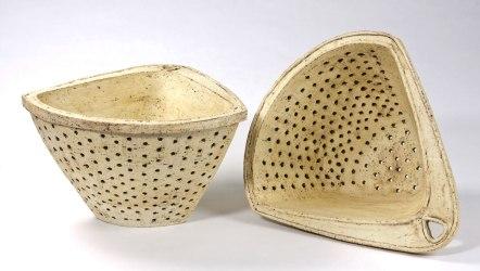 """earthenware, 14.5 x 16.5 x 9"""" (each), 2009"""