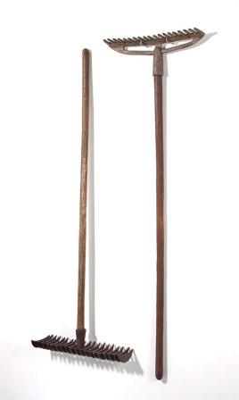 """earthenware, 40 x 5 x 55,"""" 2012"""