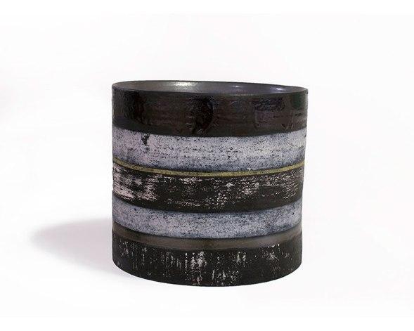 "stoneware vessel, 12 x 11 x 11"" 2013"