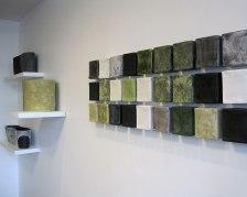 "installation, 120 x 36"" 2009"
