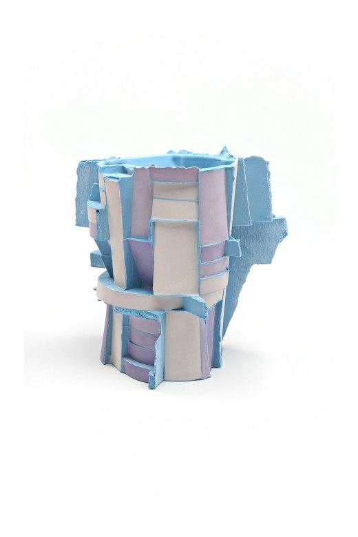 Slipcast, Porcelain, cone 6 Oxidation, 5.5in x 5in x 5in