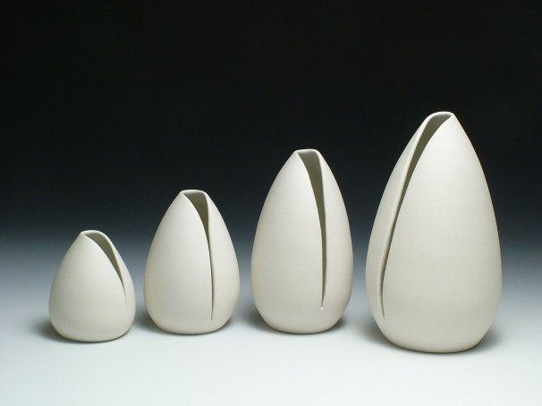 porcelain, varying sizes, 2010