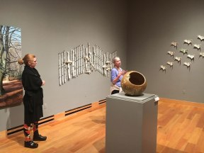 University of Wyoming Art Museum gallery talk, 2017