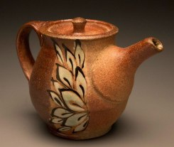 "6""x6""x6"", wood/soda/salt fired stoneware"