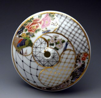 Porcelain, Glaze, China-Paint, Gold Luster, Decals, 4.5 x 1.25 inches