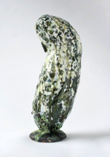 28 cm h. Stoneware and glazes. From Copenhagen Ceramics 2013. Private Collection.