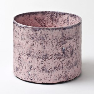 24 cm h x 30 cm ⌀. Stoneware and glazes. From Trapholt 2012. Courtesy of Hedge Gallery.