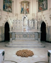 Corpus Christi Church – Baltimore, MD, 2005, Terra Cotta, 54″ x 6″ x 54""