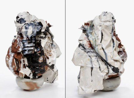 "Heather Nameth Bren, ""non-object and bowl, view 1 & view 2"""