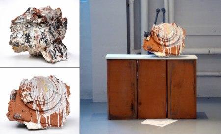 2010, earthenware, porcelain, glaze, slip