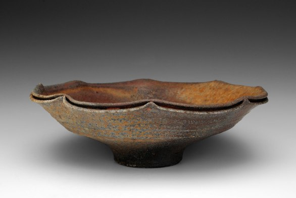 4x7x7, High Iron Stoneware, Reduction Cooled, Wood Fired