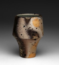 4x3x3, Porcelain with Grog, Wood Fired