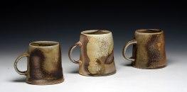4x4x4, Porcelain, Wood Fired