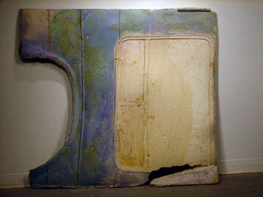 ceramic, L= 55 inches H= 60 inches