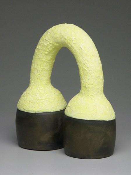 "Virginia Scotchie, ""Yellow/Bronze Double Bell"""