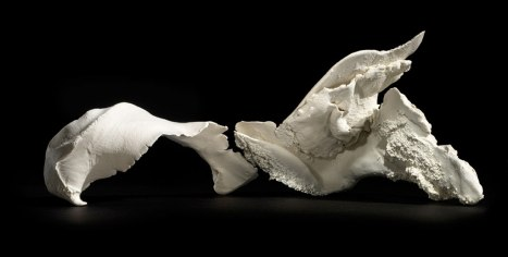 "Porcelain, Cone 10 Oxidation, H 35"" x L 51"" x W 31"""
