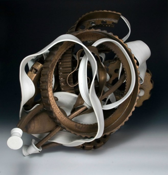 3/2011, Porcelain and Stoneware, 24x32x20""