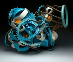 """7/2010, Porcelain and Stoneware, 20x17x19"""""""
