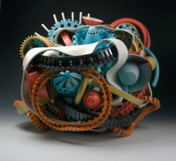 """10/2011, Porcelain and Stoneware, 25x28x22"""""""
