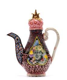 """Roberto Lugo, """"Rafael Ordero-Kalief Browder Teapot"""""""