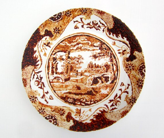 "Rory MacDonald, ""Dirty plates (after Spode)"""