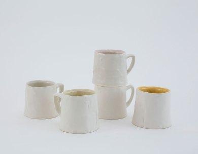 "each 4"" x 4"" x 4"", porcelain, 2017"