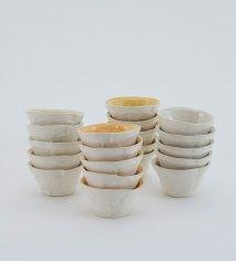 "each 3"" x 3.5"" x 3.5"", porcelain, 2017"