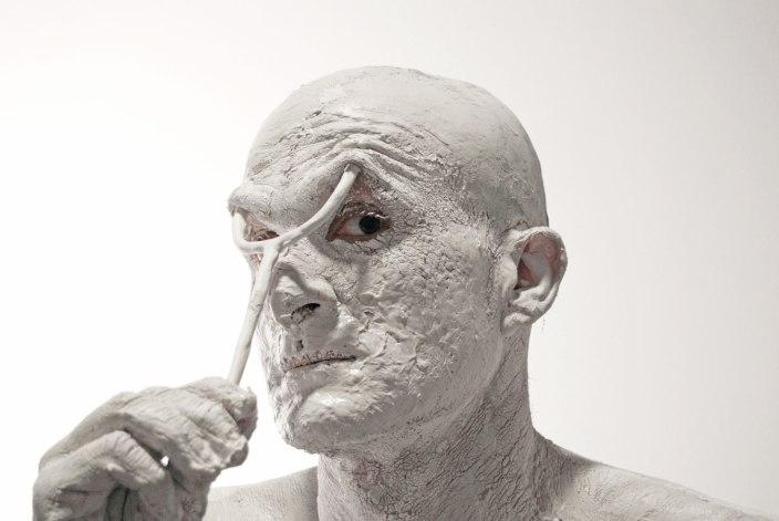 Digital Photo, Slip and hand-built porcelain