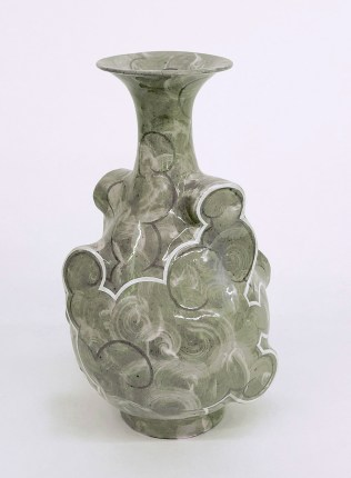 "Sam Chung, ""Cloud Pear Bottle"""