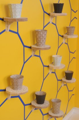 "Sanam Emami, ""Cup Garniture"" (detail)"