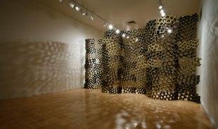 8'x15'x3', cone 04 stoneware, 2010