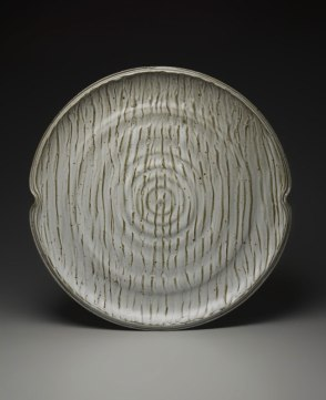 "20"" x 20"", iron rich stoneware w/ satin matte glaze, reduction cone 9"