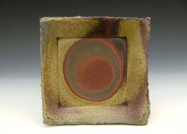 "6"" x 6"" x 1"", Wood-fired Stoneware"