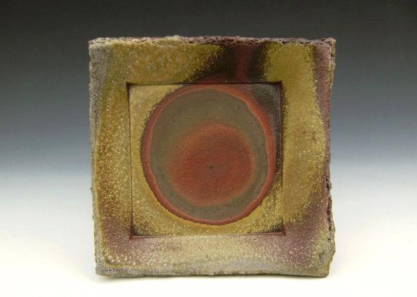"6"" x 6"" x 1"", Wood-fired Stoneware"