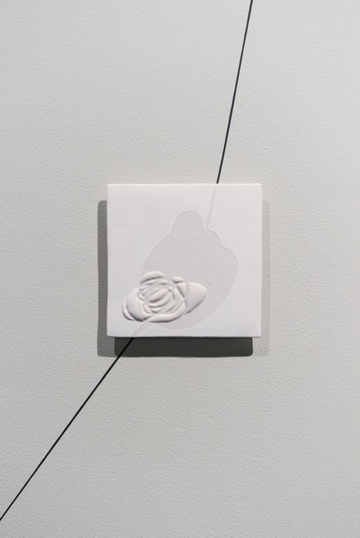 Porcelain and vinyl, Variable (ceramic element 6in X 6in), 2016