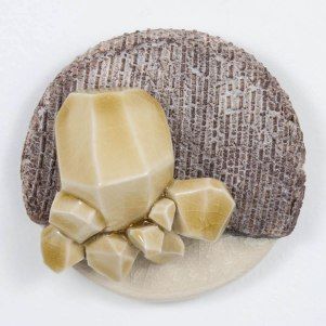 2014, ceramic, 4x4x1