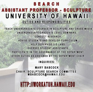 Sculpture search - University of Hawaii