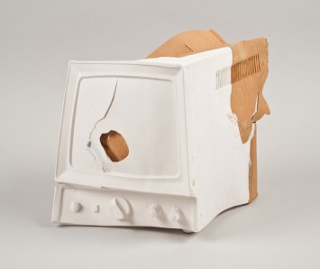 slip cast and wheel throwing of local clay and Limoges porcelain