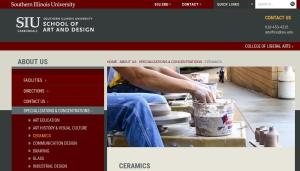 Learn more about SIU Carbondale Ceramics