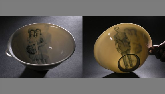 """Translucent porcelain, 7 1/2"""" across, 2008"""