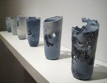 cast porcelain, soluble salts, decals, 2009