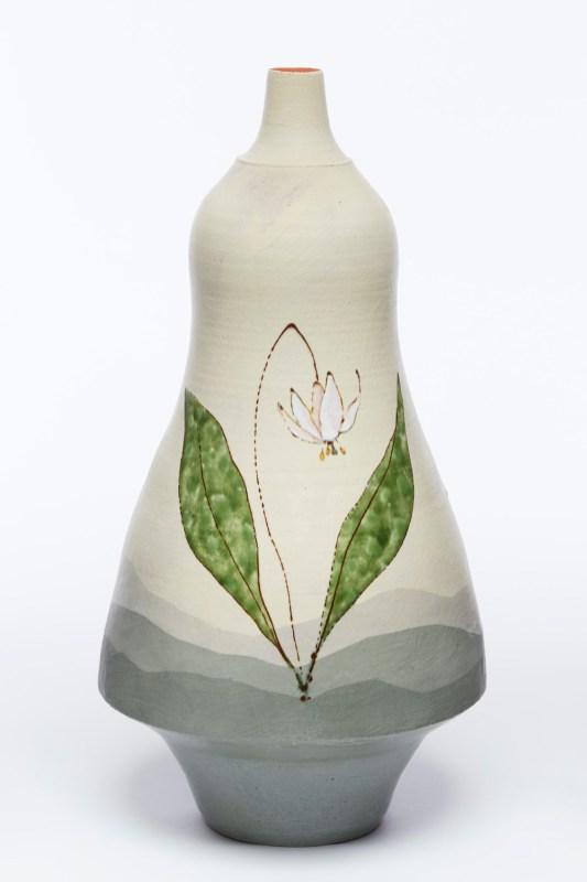 "Vase (Dwarf Trout Lily)"""