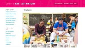 University of Florida website screenshot