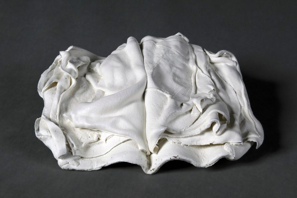 2016, superwhite porcelain, reduction-fired 1350 C, 33 x 20 x 10 cm / 13 x 7 x 4 inches