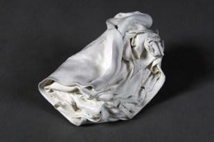 2016, superwhite porcelain, oxidation fired 1350 C, 33 x 30 x 7 cm / 13 x 12 x 3 inches