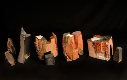 W100xh29xd30, Ceramic, fabric, acrylic. 2005